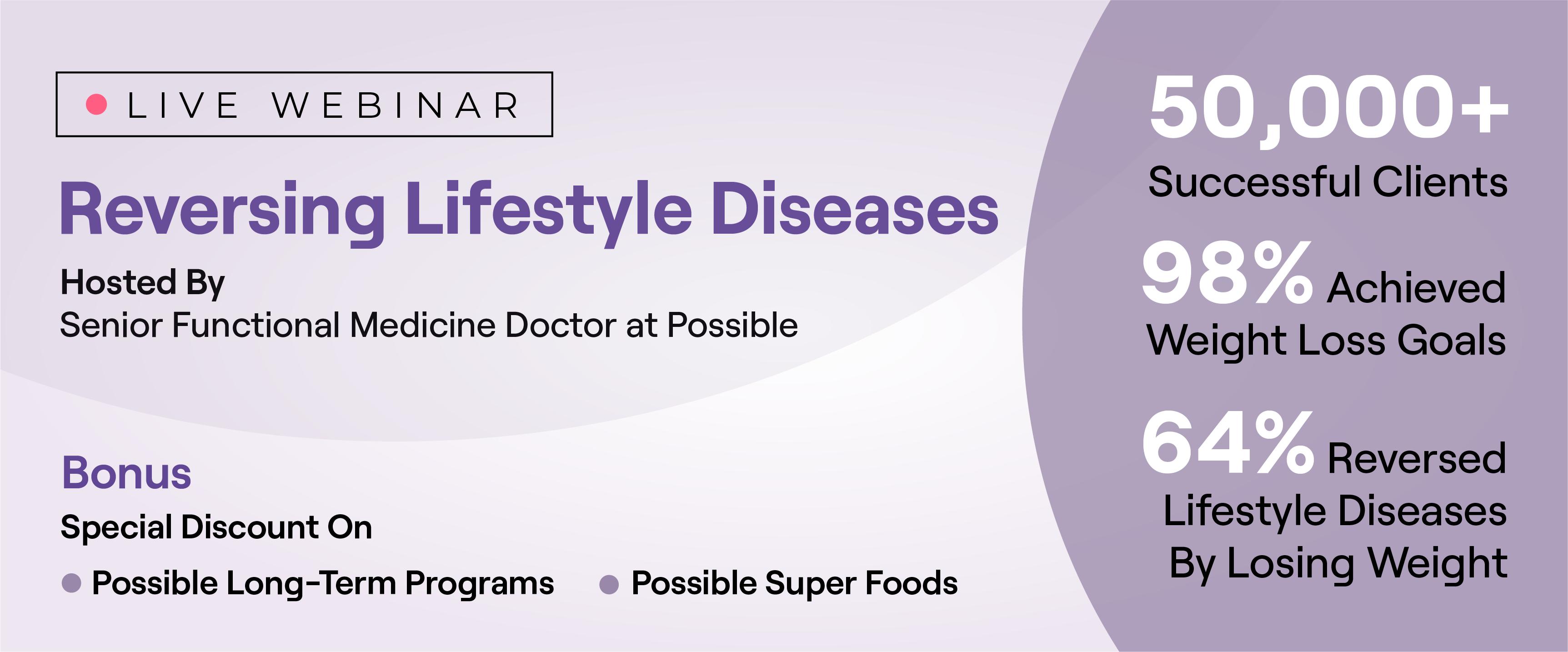 Reversing Lifestyle Diseases