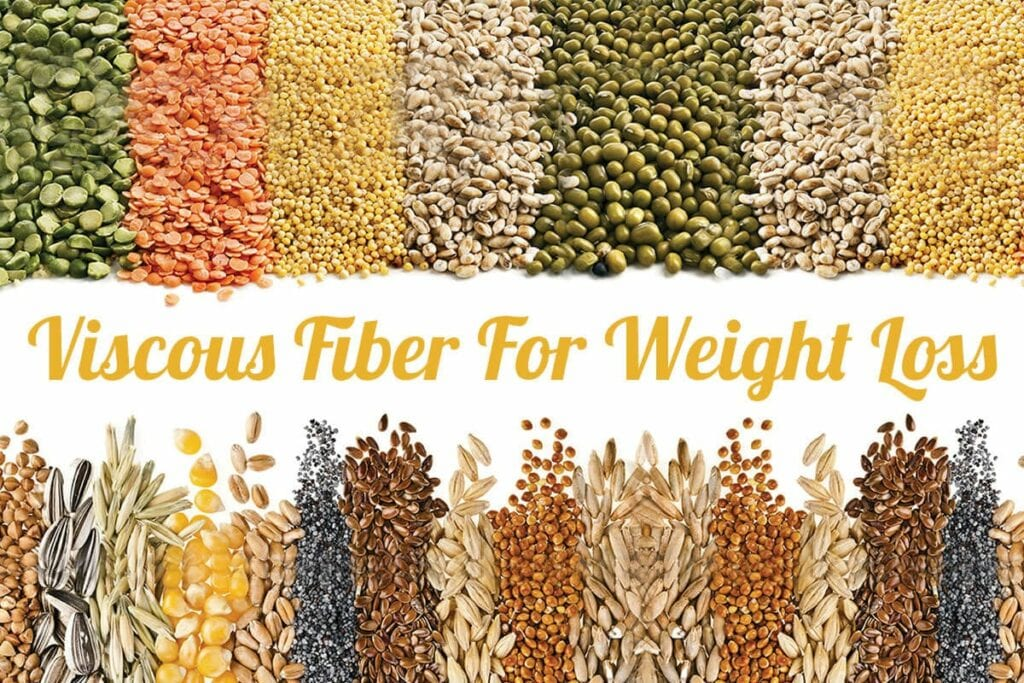 Viscous Fiber Helps In Weight Loss