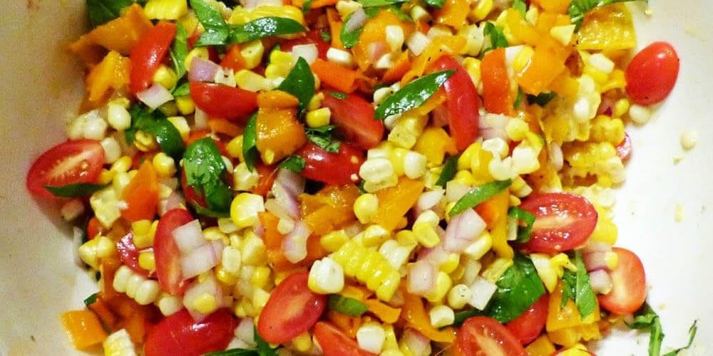 Corn salad recipe Healthy and Tasty