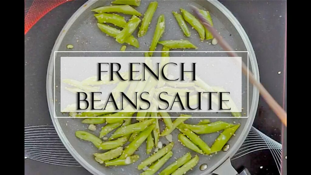 French beans recipe