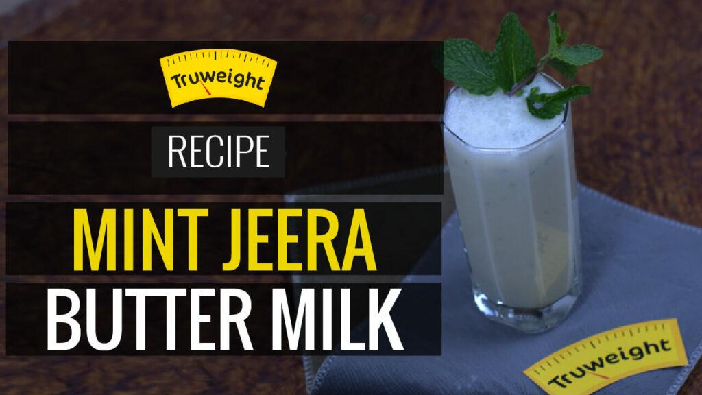Mint jeera butter milk recipe