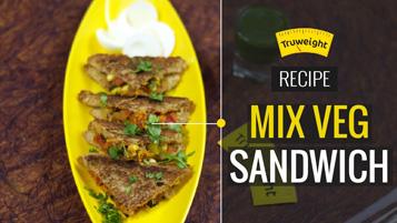 Mix Veg Sandwich Recipe