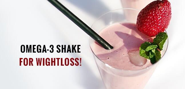 Omega -3 Weight Loss Shake Recipe