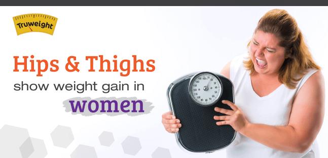 Weight Gain Pattern For Women
