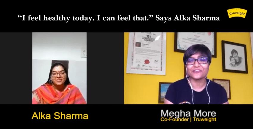 Alka Sharma weight loss success story