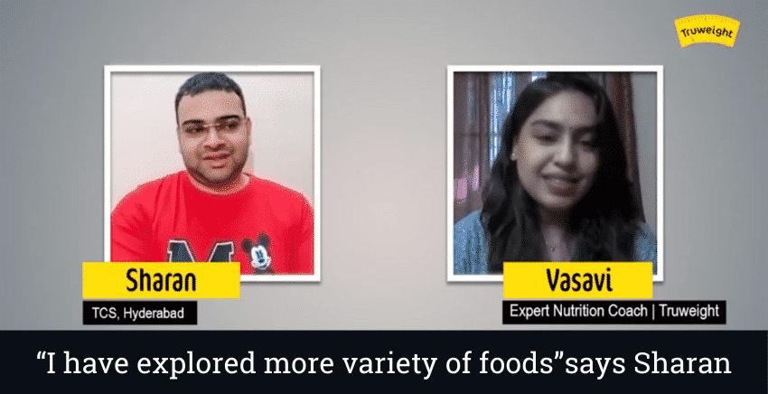 Weight Loss Story of Sharan