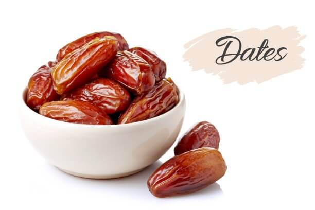 Dates are rich in iron