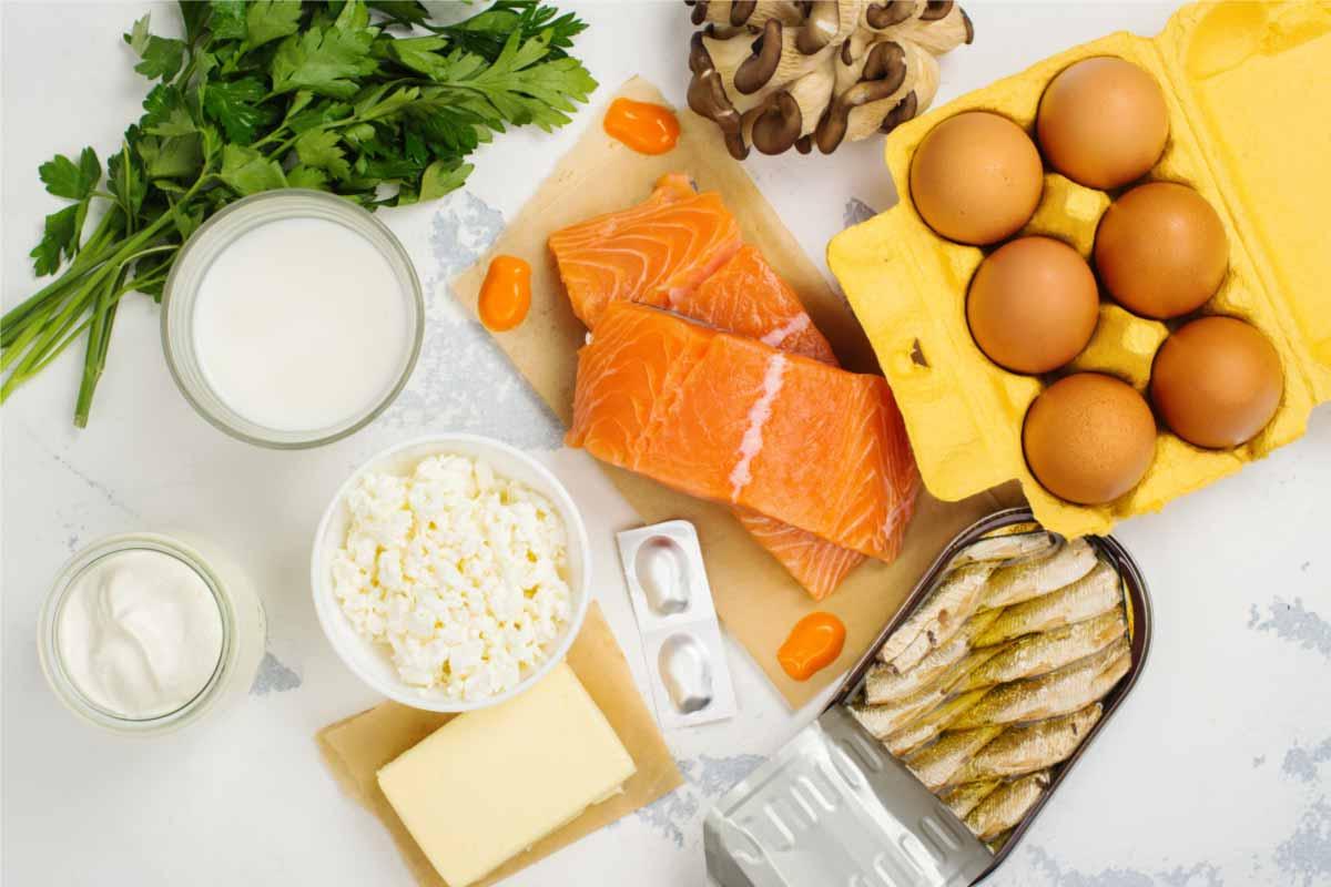 calcium and vitamin D rich foods