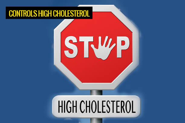 Garlic prevents High Cholesterol