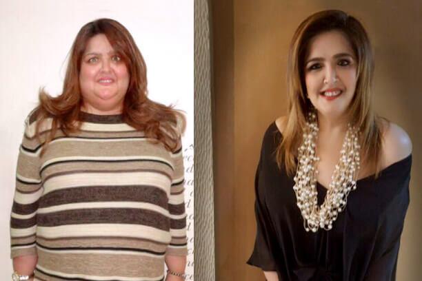 Suniana Roshan weight loss