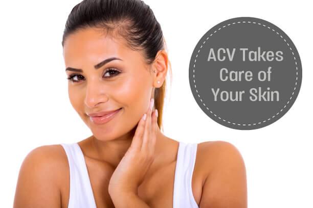 ACV skin benefits