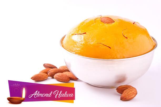 Almond Halwa for Diwali- Recipe