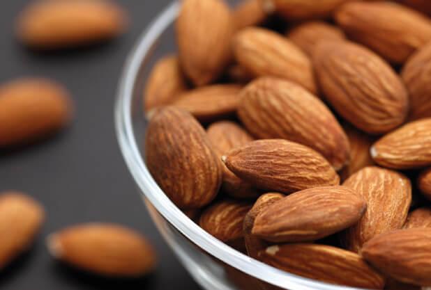 Almonds for fat burner diet