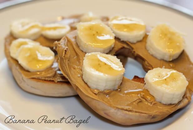 Banana Peanut Bagel Recipe