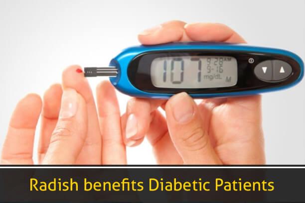 Radish Benefits Diabetic Patients