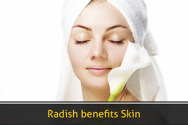 Radish Benefits Skin