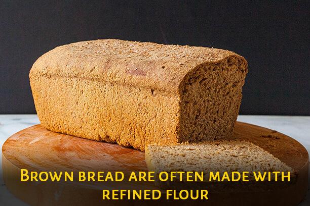 Brown bread ingredients