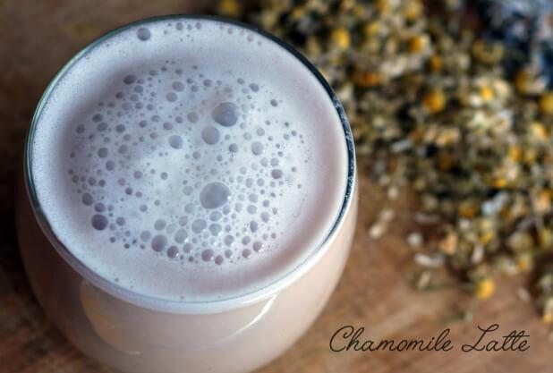 Chamomile Latte Recipe