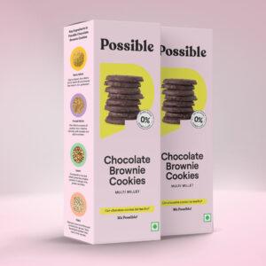 Possible chocolate brownie cookies