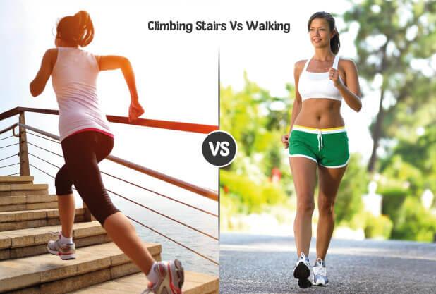 Comparative Analysis between Climbing Stairs & Walking