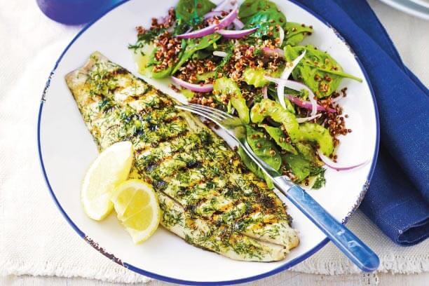 Quinoa Salad with Fish