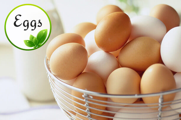 Nutrient-rich Eggs are low-calorie foods