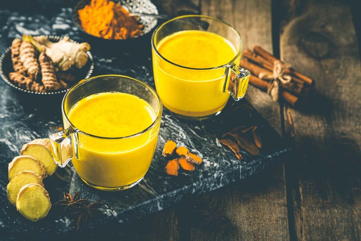 Good night golden milk for immunity