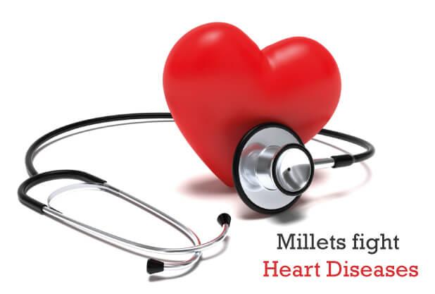 Millets fight Heart Diseases