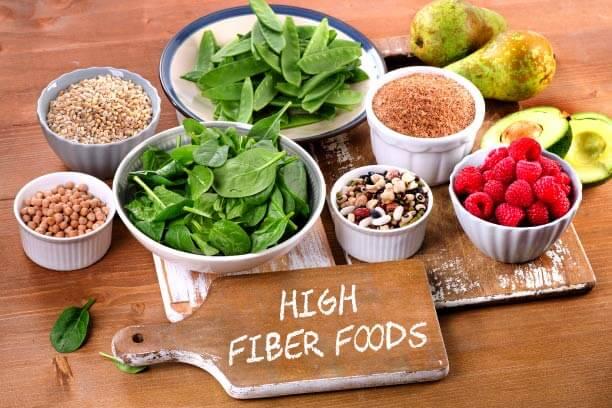 High Fiber foods for Diabetic Diet