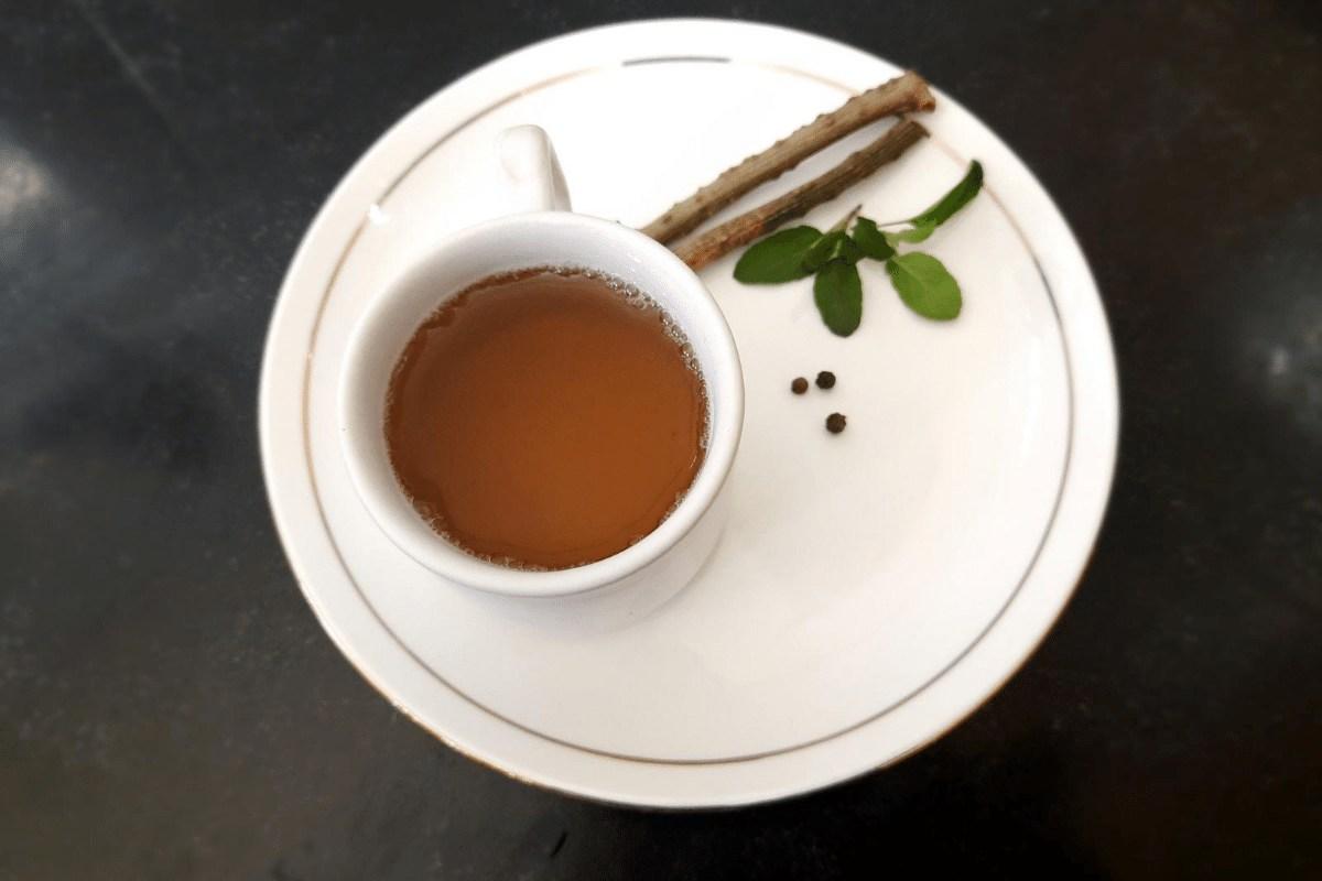 homemade immune booster tea