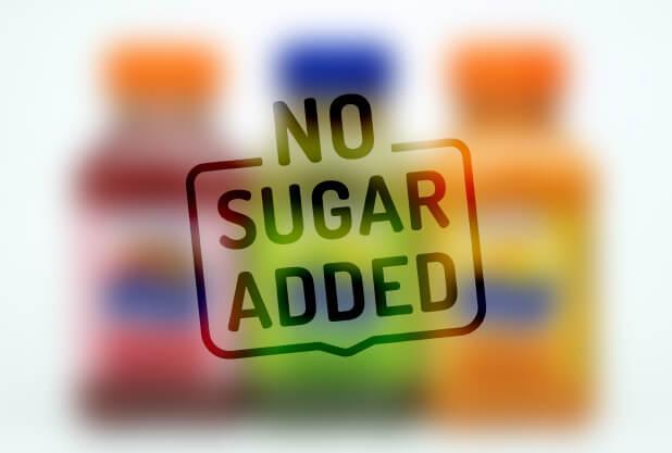 Is no added sugar healthy?