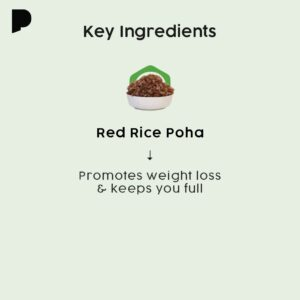 Key ingredients of red rice poha