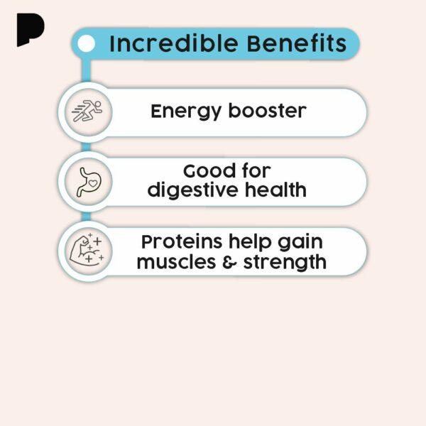 benefits of granola bar (apple)