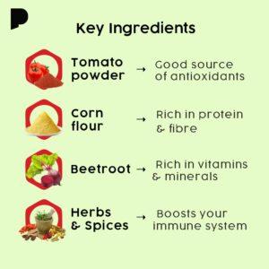 key ingredients of tomato soup