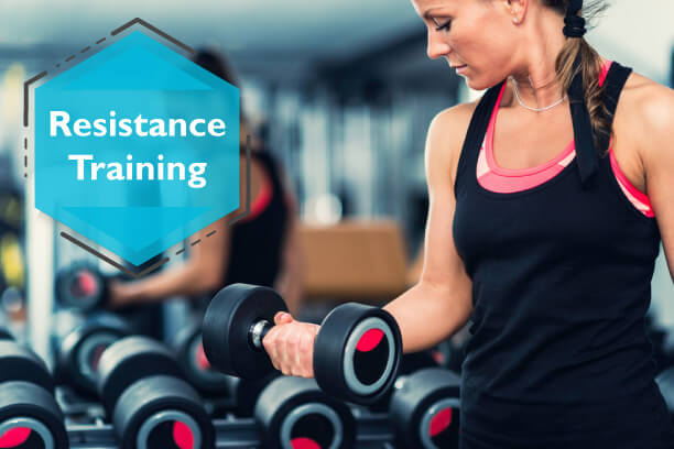 Resistance Training builds muscles that are important for diabetics