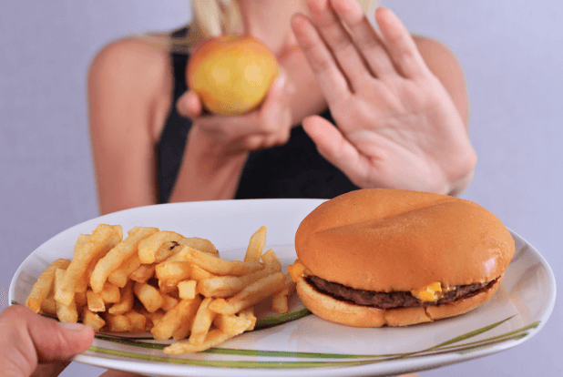 Say no to fast food