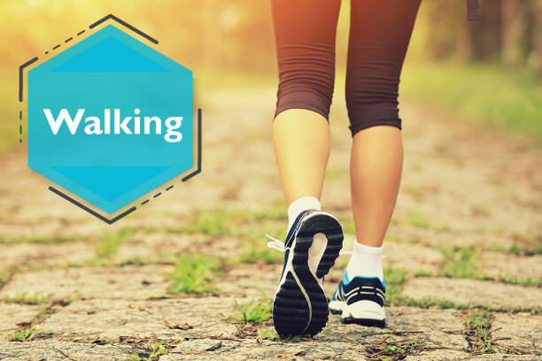 Walking is the most commonly prescribed exercise for diabetes