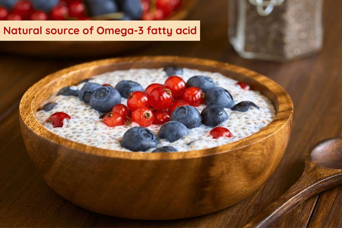 Natural source of Omega-3 fatty acid on display