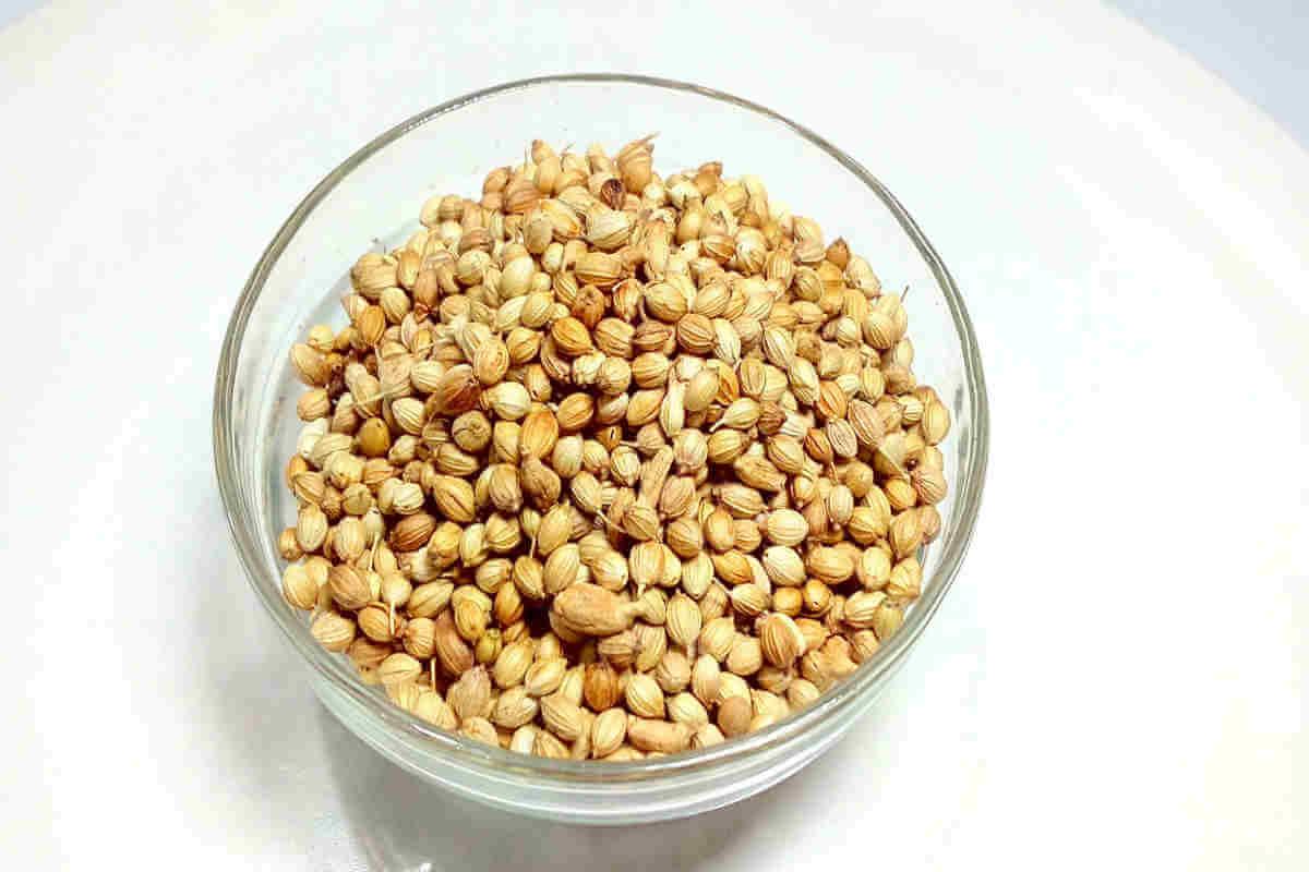 Coriander seeds are rich in potassium