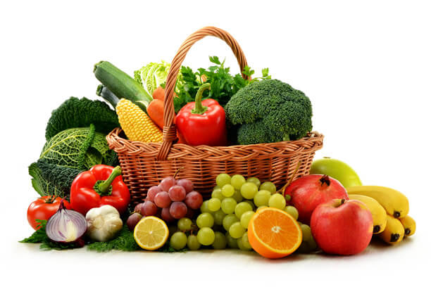Have 5 servings fruits and Veggies