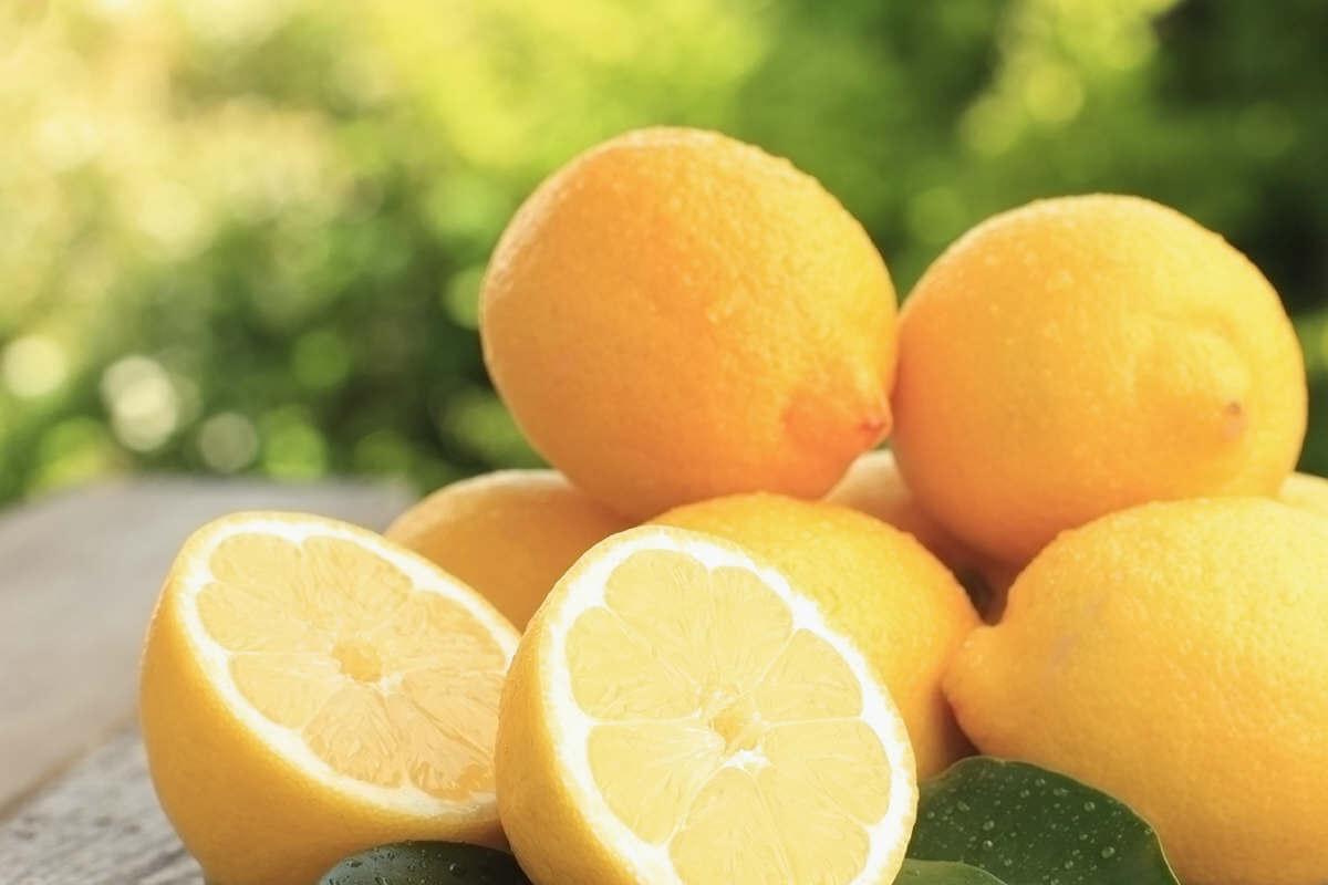 Lemon works as a natural antioxidant