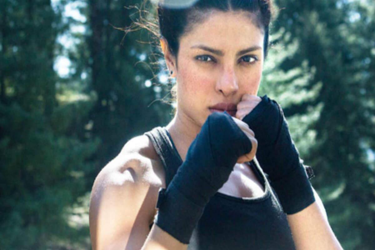 New weight loss exercise by Priyanka Chopra