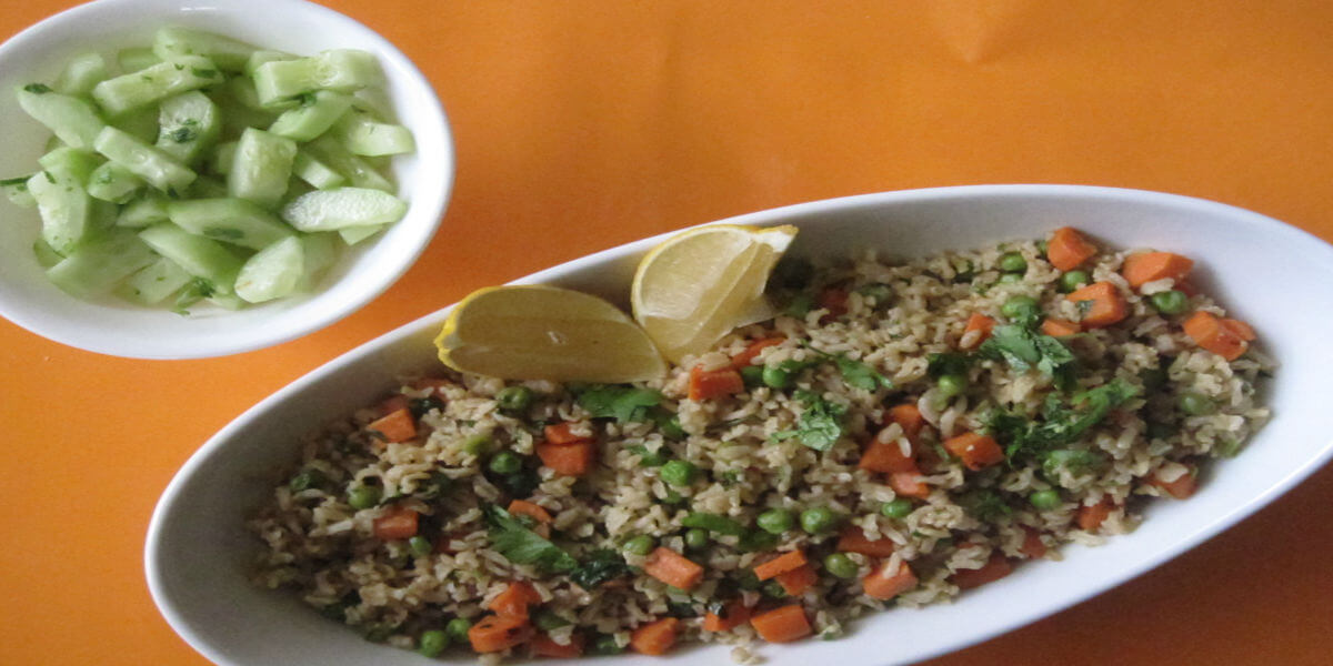 Brown rice can make for a tasty replacement for polished rice