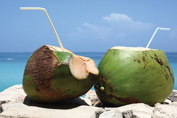 Get refreshed with coconut water
